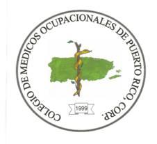 colegio de medicos ocupacionales de Puerto Rico